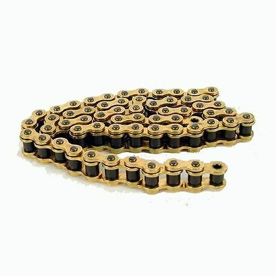 D.I.D Heavy Duty 134 Link Standard MX / Bike Drive Chain 428HD-GG (Gold / Gold)