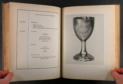 1932 New York Farmers Antique Silver Collection Catalog - 1 of 85 Copies