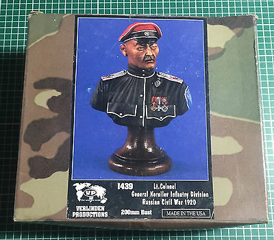 VERLINDEN 1439 - Lt. COLONEL GENERAL KORNILOV INFANTRY DIVISION 200mm RESIN KIT