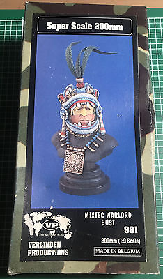 VERLINDEN 981 - MIXTEC WARLORD - BUST 200mm RESIN KIT