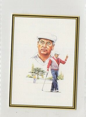 #16 Christy O'Connor Jr - Ryder Cup 89 Golf Collector Card
