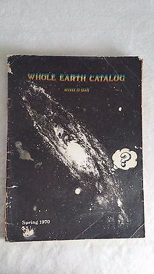 RARE Spring 1970 Whole Earth access to tools catalog