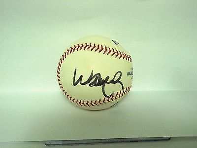 Willie Nelson autographed official major league baseball country music legend