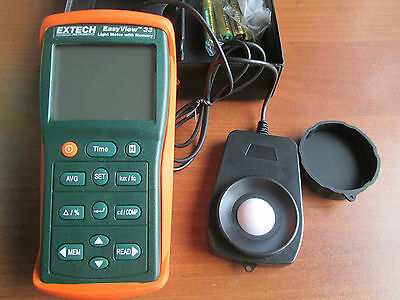 Extech EA33 EasyView Light Meter with Memory