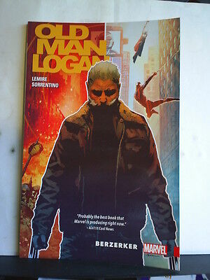 GRAPHIC NOVEL: WOLVERINE: OLD MAN LOGAN - BERZERKER - Paperback 2016 1st print