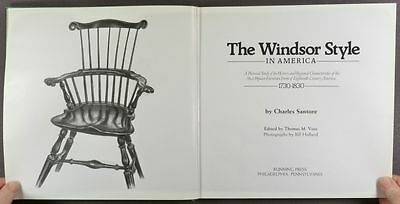 Antique American Windsor Chairs - Understand & Collect - 2-Volume Set by Santore