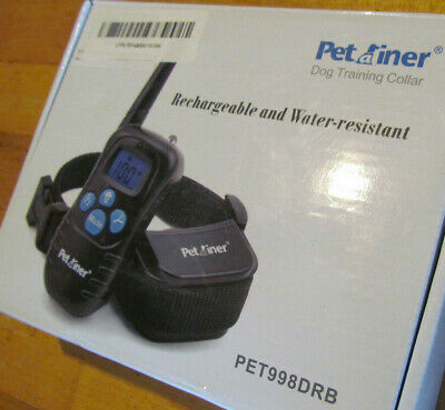 Petrainer Dog Training Collar Rechargeable and Waterproof PET998DRB  2 Dog