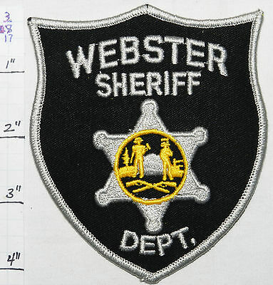 West Virginia, Webster County Sheriff Dept Patch
