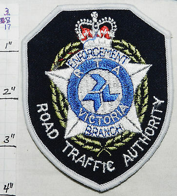 Australia, Victoria Road Traffic Authority Rta Police Patch
