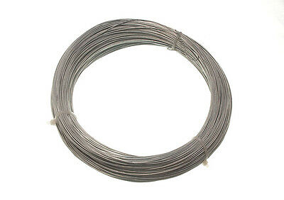Galvanised Garden Fence Wire - 0.7 Mm 160 Metres Single Roll 500G In Weight