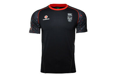 Canterbury New Zealand Warriors NRL 2017 Players Rugby Training T-Shirt