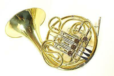 Reynolds Contempora Double French Horn Yellow Brass Kruspe Wrap NICE QuinnTheEsk