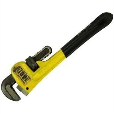 "10"" Professional Pipe Wrench - Adjustable Spanner Tool 10250mm Monkey Plumbing"