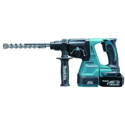 Makita Dhr242Rtj 18 Volt Cordless Sds Hammer Drill 3 Mode In Carry Case