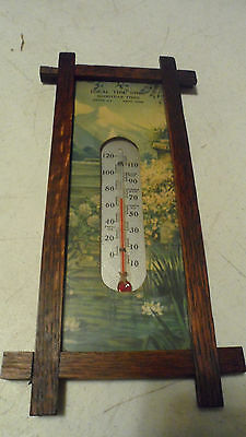 RARE EARLY CENTURY1920s-30s GOODYEAR TIRES THERMOMETER IDEAL BODY SHOP KENT OHIO