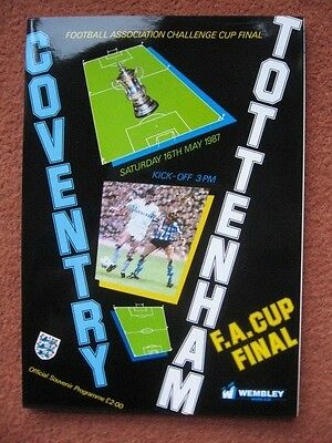 1987 FAC FINAL: COVENTRY CITY v TOTTENHAM HOTSPUR