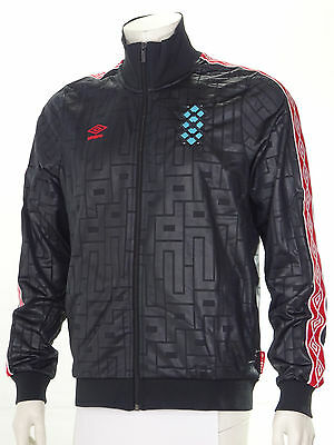 Umbro 'Diamond Icons' Retro Tracksuit Jacket Limited Edition Black/Red S-XL