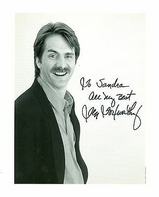 Jeff Foxworthy comedian autographed 8 x 10 black and white photo hand signed