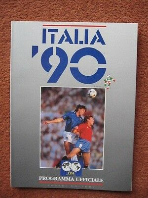 1990 World Cup Finals Tournament Official Programme