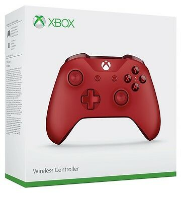 Xbox One Red Wireless Controller