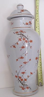 Vase~Hyalyn~1979~823~Looks Like Hand Painted Apple Blossoms~See Pictures~#85