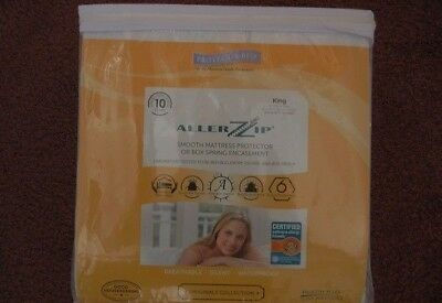 "Protect-A-Bed Bed Bug Proof Bedroom Encasement Queen 6/"" Smooth Polyester BOM1506"