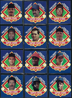 1988 MSA Iced Tea Superstars Disc SQUARE PROOF * Pick Your Player *