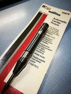 New Heavy Duty Snap On Blue Point Ya879 Automatic Center Punch