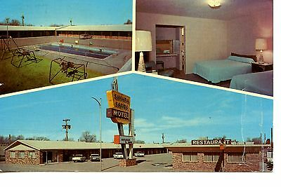 Sahara Sands Motel-Highway Route 66-Tucumcari-New Mexico-Vintage Adv Postcard