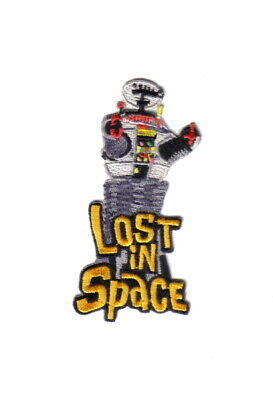 Lost In Space TV Series The B9 Robot Figure Embroidered Patch, NEW UNUSED