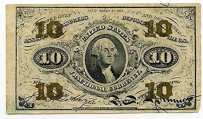 United States Fractional Currency Note - Ten Cents - AK339