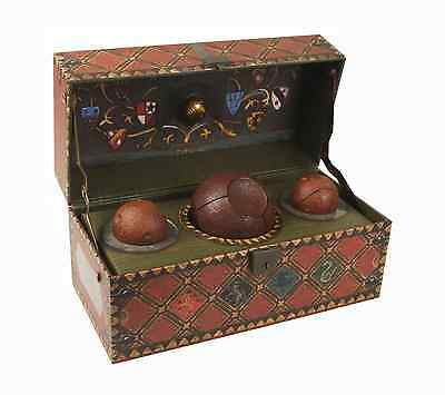 Harry Potter Collectible Decorative Quidditch Trunk Set NEW!