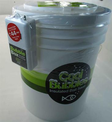 Marine Metal CB-115 Cool Bubbles 5 Gal Insulated Bait Saver Bucket Aerator 22352