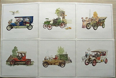 OPEL – A SMALL PARADE OF FAMOUS VETERANS Colour Plates 1898 to 1925