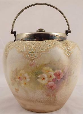 Antique Royal Doulton Burslem Cracker/biscuit Barrel, Tobacco Jar
