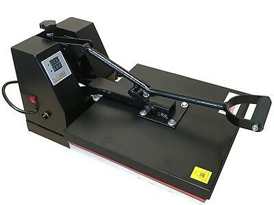 "Heat Press Transfer T Shirt Sublimation Machine Digital Clamshell 15"" x 15""  NEW"