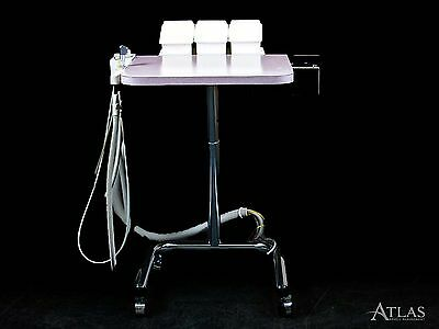 Aseptico Dental Assistant Portable Delivery w/ SE, HVE, & Air-Water Syringe