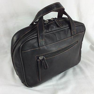 Large Leather LDS Scripture Case Mormon Cover Big Quad Bible Tote Carrying Bag