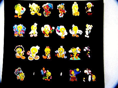 Willabee & Ward Looney Tunes Tweety Bird & Sylvester Cat 22 Pin Collection