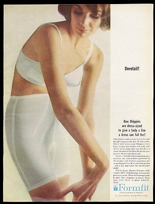 1964 Formfit Dress Shaper Skippies girdle woman photo vintage print ad