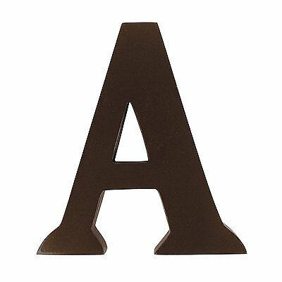 """OpenBox Trend Lab Brown 6"""" Tall Letter, Letter A"""