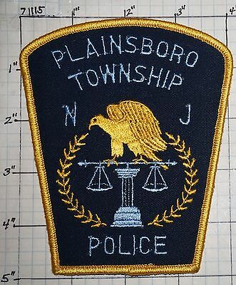 New Jersey, Plainsboro Township Police Dept Patch