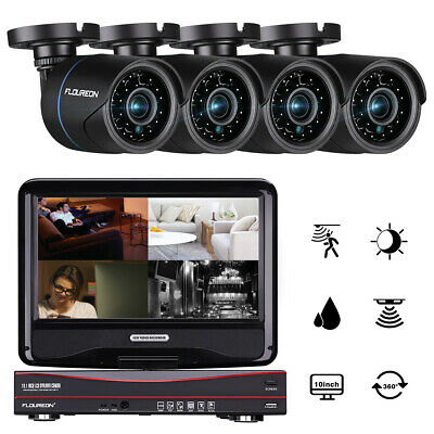 8CH 1080N DVR 2000TVL 960P Outdoor CCTV Video Home Security Camera System 1TB HD