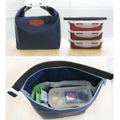 Tote Portable Insulated Pouch Cooler Wasserdichte Food Storage Bag Red