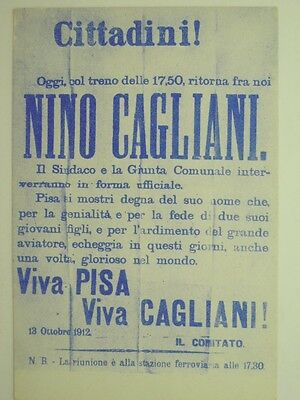 Aviation-Italy-Famous People-N.cagliani-Pisa-V7M-S15065