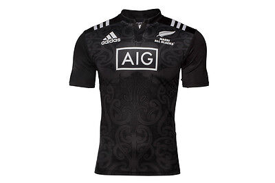 adidas New Zealand Maori All Blacks 2016 S/S Rugby Shirt