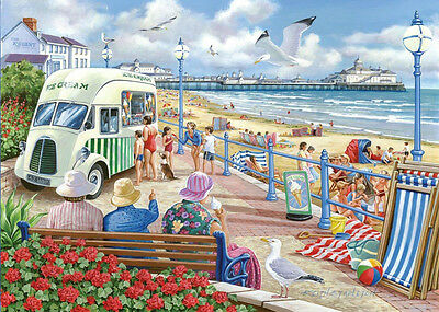 The House Of Puzzles - 1000 PIECE JIGSAW PUZZLE - Sun Sea & Sand
