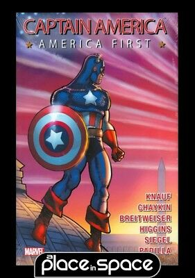 Captain America America First - Hardcover