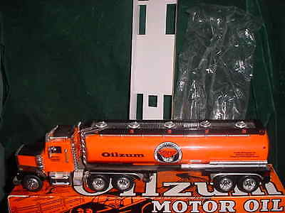 Fathers Day Oilzum Motor Oil Toy Truck Bank 1:34 Scale Toys Collectible Truck