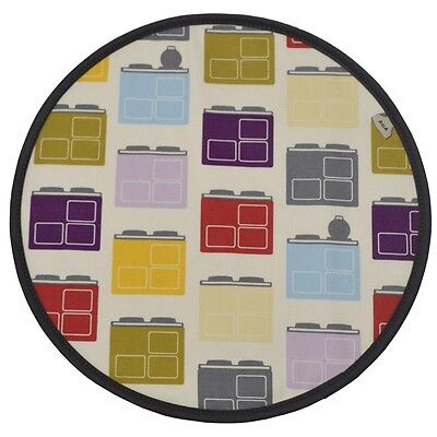 Aga Cookshop Iconic Print Chef's Pad Lid Cover - Single W3319